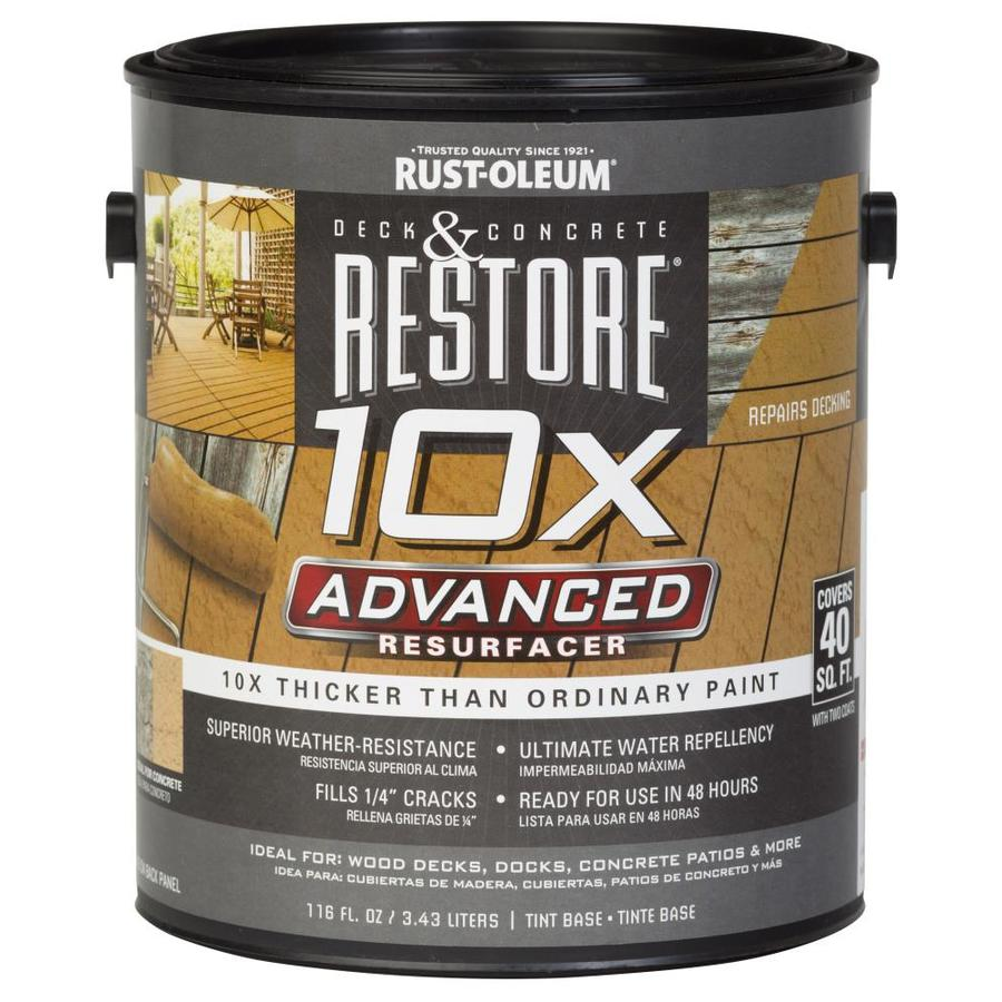 Rust-Oleum Restore Tintable Restoration Textured Solid Exterior Stain (Actual Net Contents: 116-fl oz)