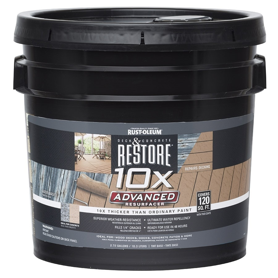 Rust-Oleum Restore Tintable Resurfacer (Actual Net Contents: 2.72-Gallon)