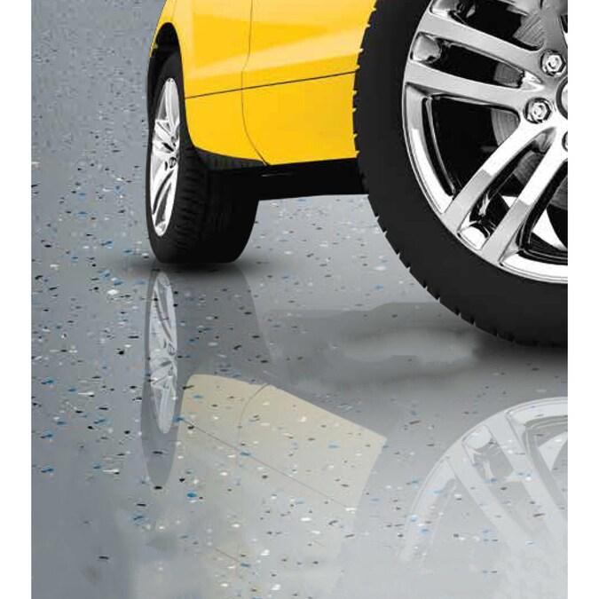 Clear High Gloss Garage Floor Epoxy