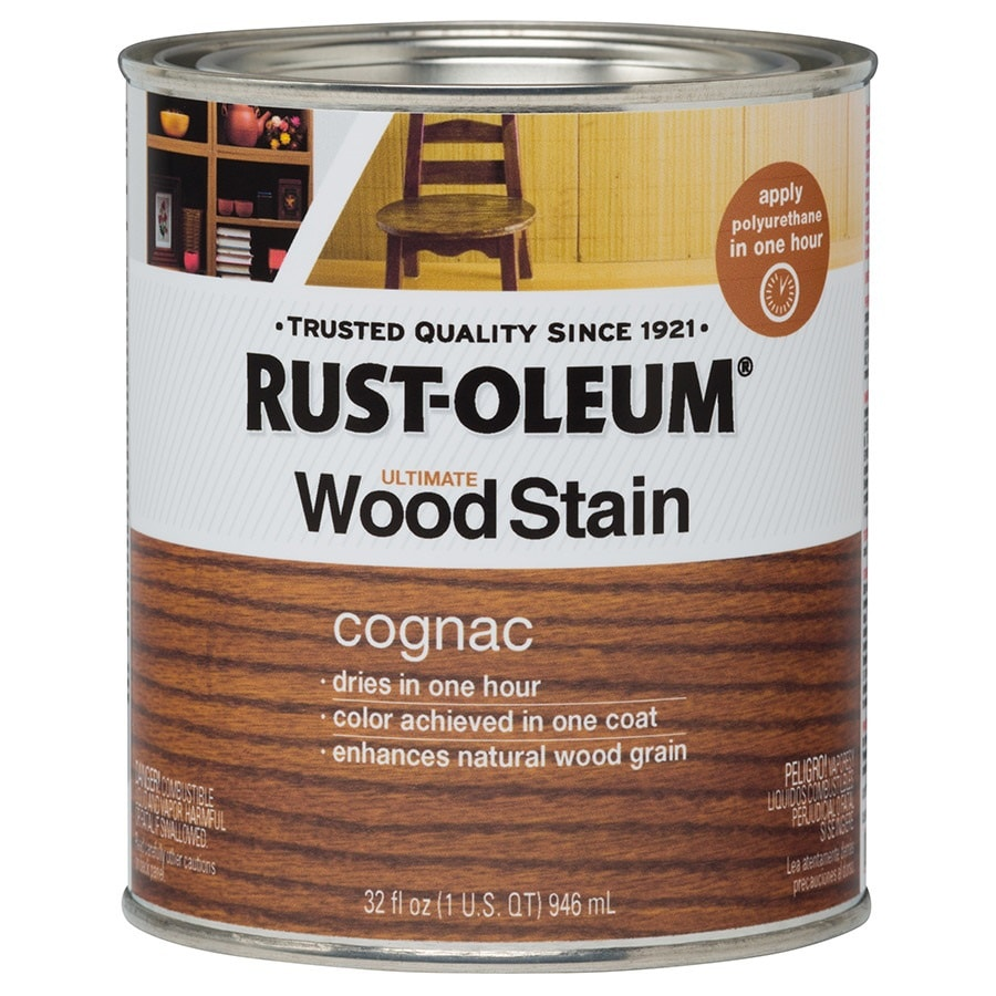Rust-Oleum Ultimate COGNAC Interior Stain (Actual Net Contents: 32-fl oz)