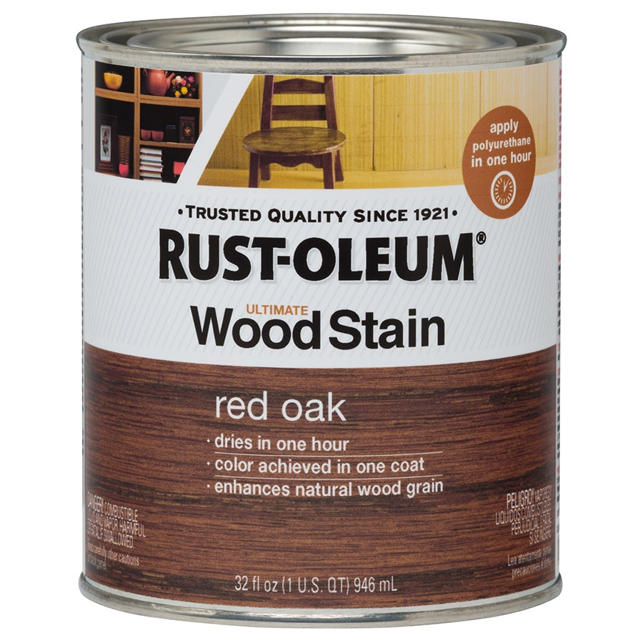 Rust-Oleum Ultimate RED OAK Interior Stain (Actual Net Contents: 32-fl oz)