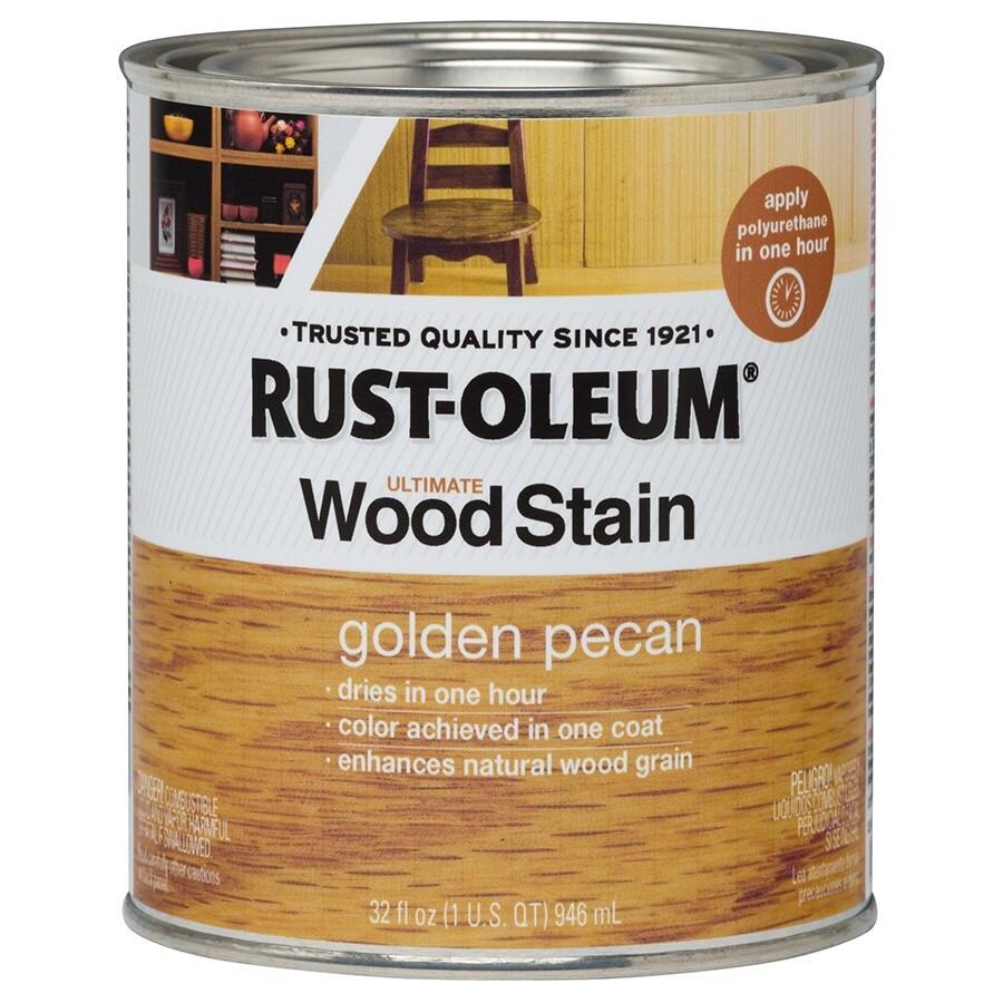 Rust-Oleum Ultimate GOLDEN PECAN Interior Stain (Actual Net Contents: 32-fl oz)