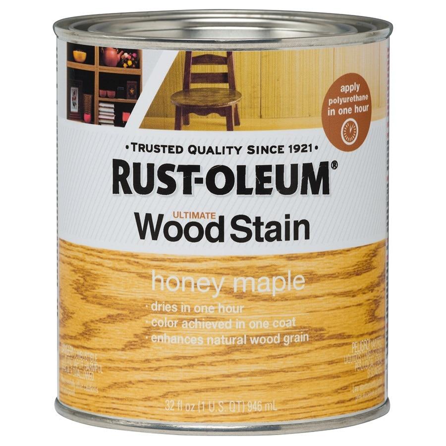 Rust-Oleum Honey Maple Interior Stain (Actual Net Contents: 32 Fluid Ounce(S))