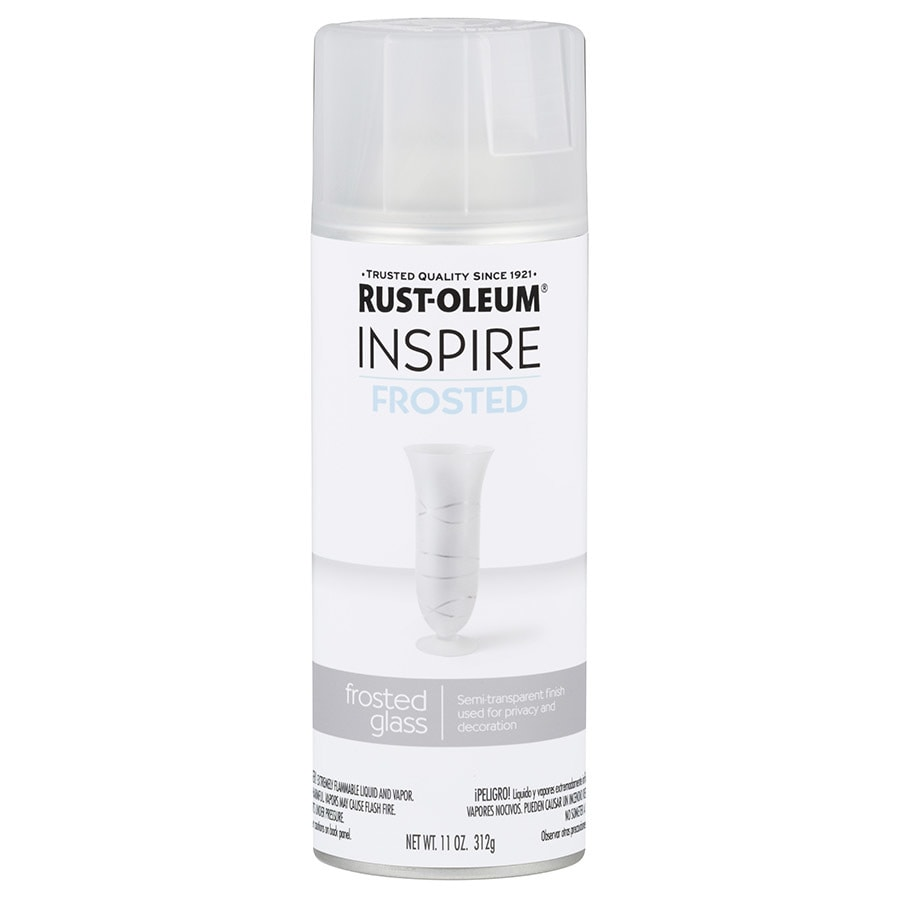 Rust-Oleum Inspire White Frosted Spray Paint (Actual Net Contents: 11-oz)