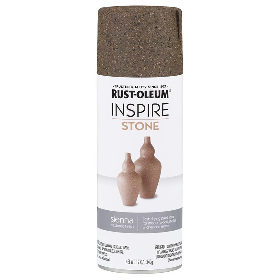 Rust-Oleum Inspire Sienna Sandstone Spray Paint (Actual Net Contents: 12-oz)