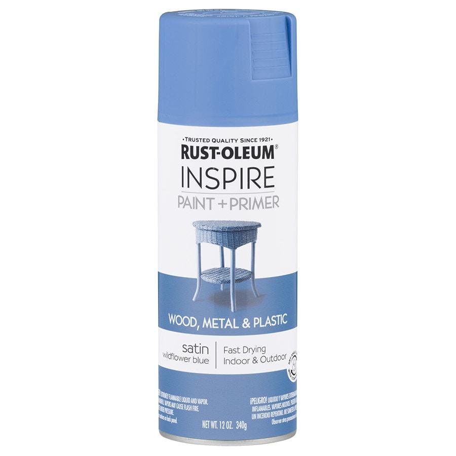 Rust-Oleum Inspire Wildflower Blue Enamel Spray Paint (Actual Net Contents: 12-oz)