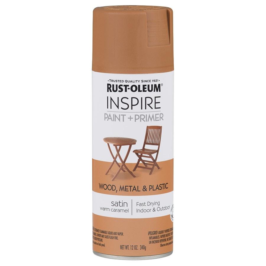 Rust-Oleum Inspire Warm Caramel Enamel Spray Paint (Actual Net Contents: 12-oz)