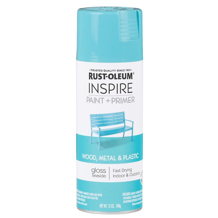 Rust-Oleum Inspire Seaside Enamel Spray Paint (Actual Net Contents: 12-oz)