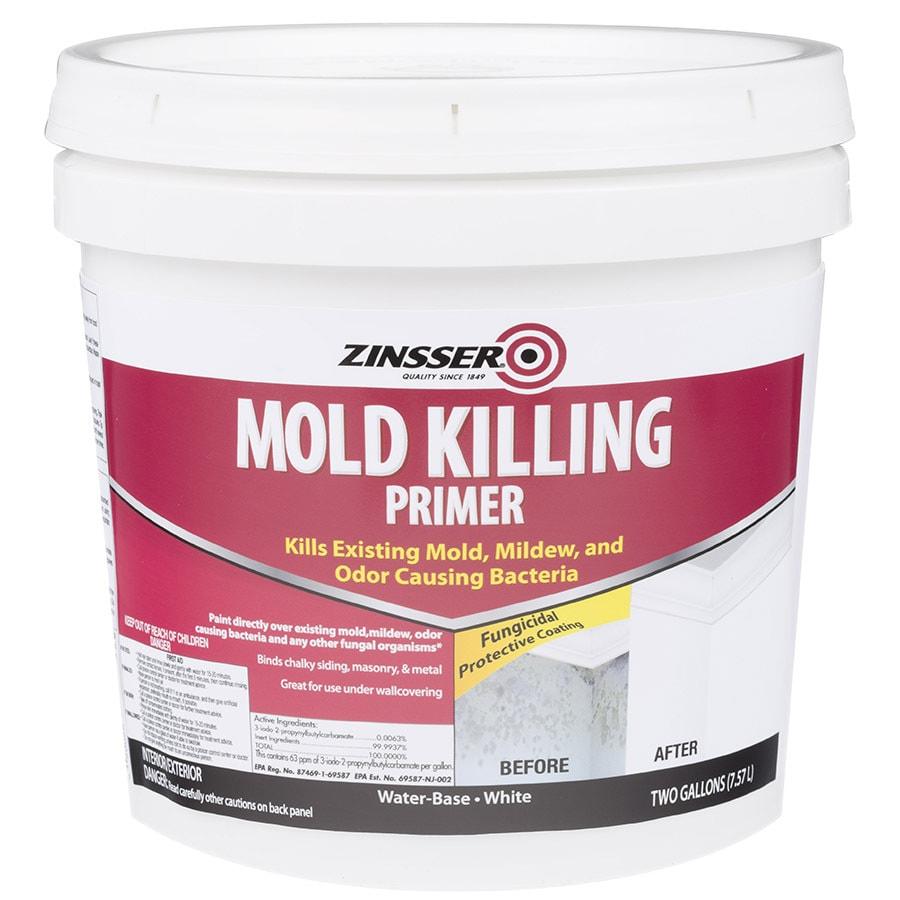 Zinsser Mold Killing Interior Latex Primer (Actual Net Contents: 256-fl oz)