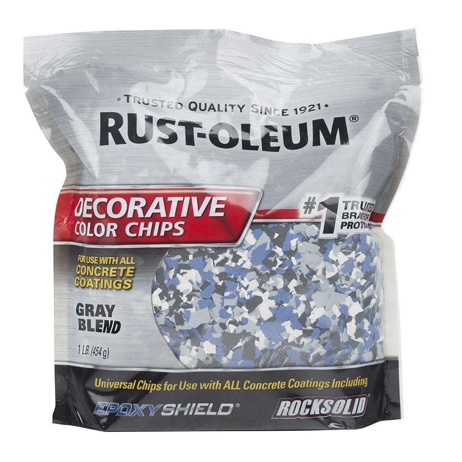 Shop Rust Oleum Gray Paint Color Flakes Actual Net
