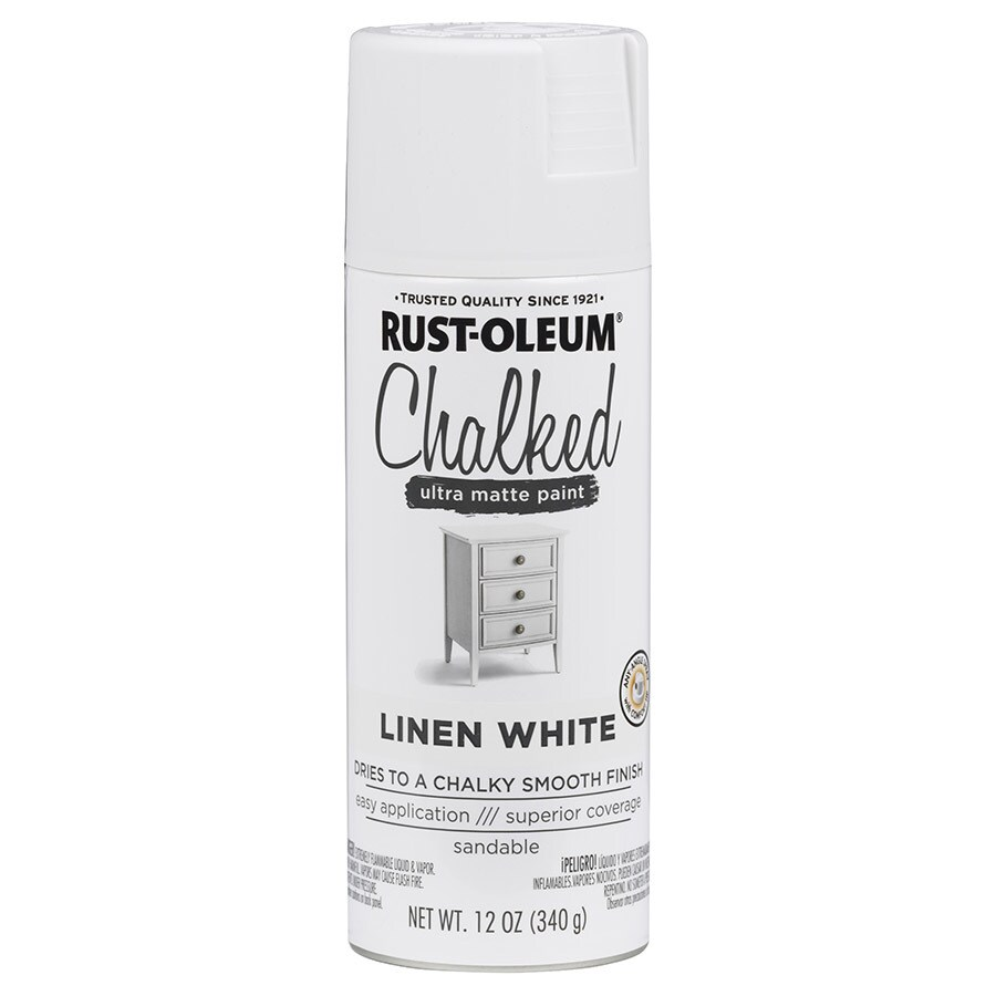 Rust-Oleum Chalked Linen White Chalky Paint