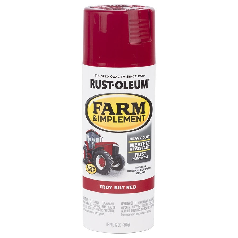 Rust-Oleum Specialty Troy Built Red Enamel Spray Paint (Actual Net Contents: 12-oz)
