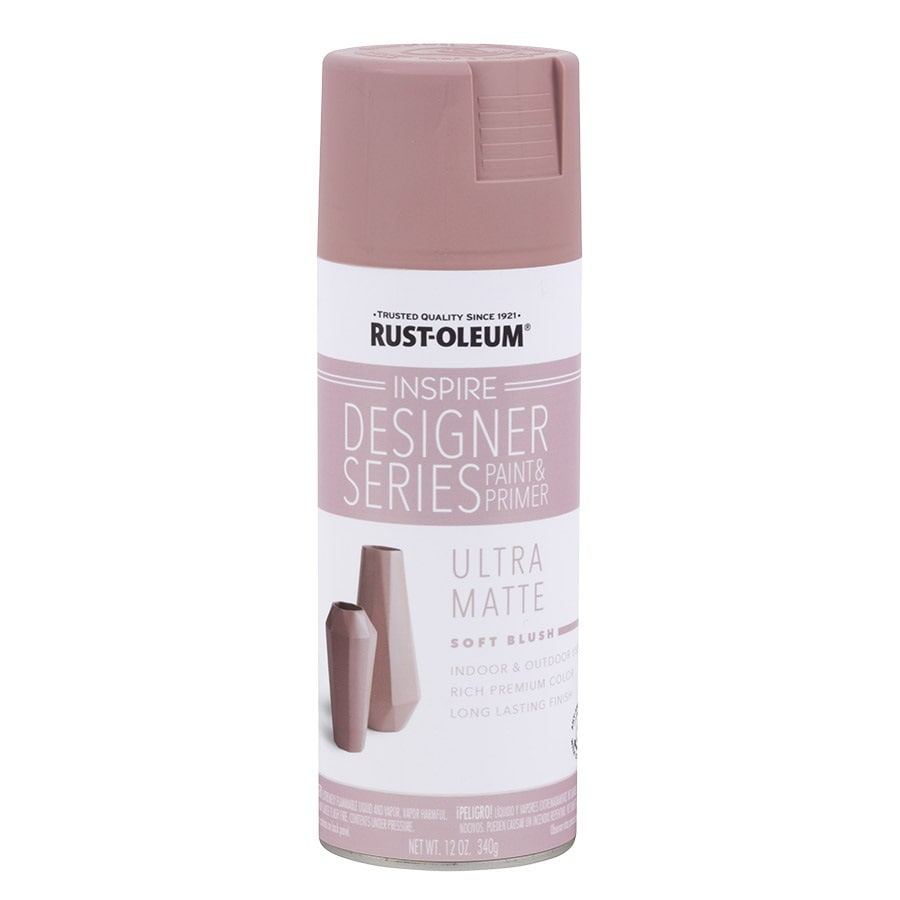 Rust-Oleum Inspire Designer Series Soft Blush Fade Resistant Enamel Spray Paint (Actual Net Contents: 12-oz)