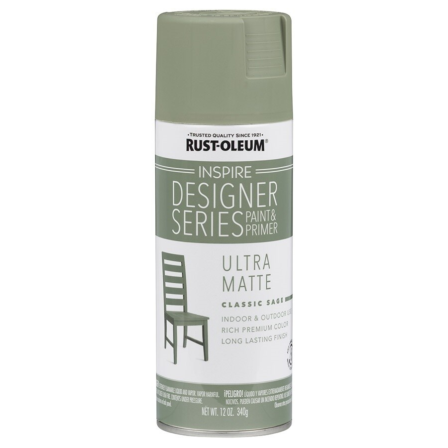 Rust-Oleum Inspire Classic Sage Enamel Spray Paint (Actual Net Contents: 12-oz)