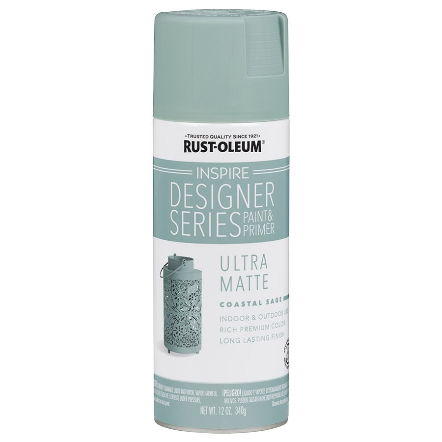 Rust-Oleum Inspire Designer Series Coastal Sage Fade Resistant Enamel Spray Paint (Actual Net Contents: 12-oz)