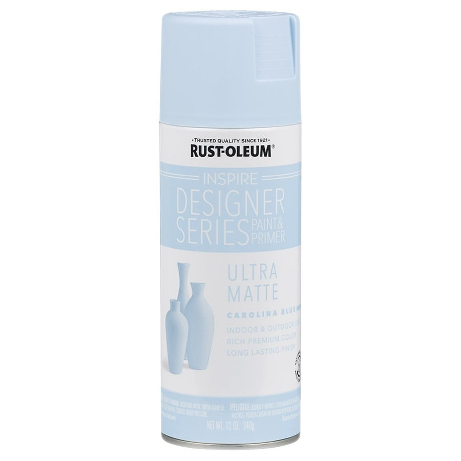 Rust-Oleum Inspire Carolina Blue Enamel Spray Paint (Actual Net Contents: 12-oz)