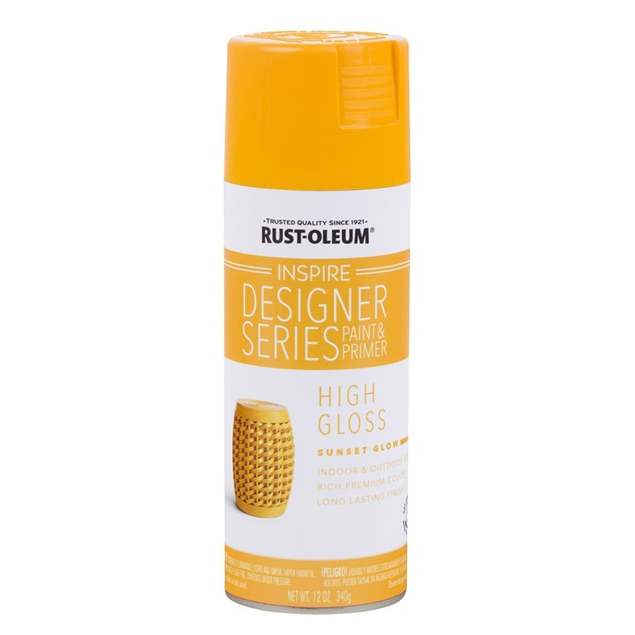 Rust-Oleum Inspire Sunset Glow Enamel Spray Paint (Actual Net Contents: 12-oz)