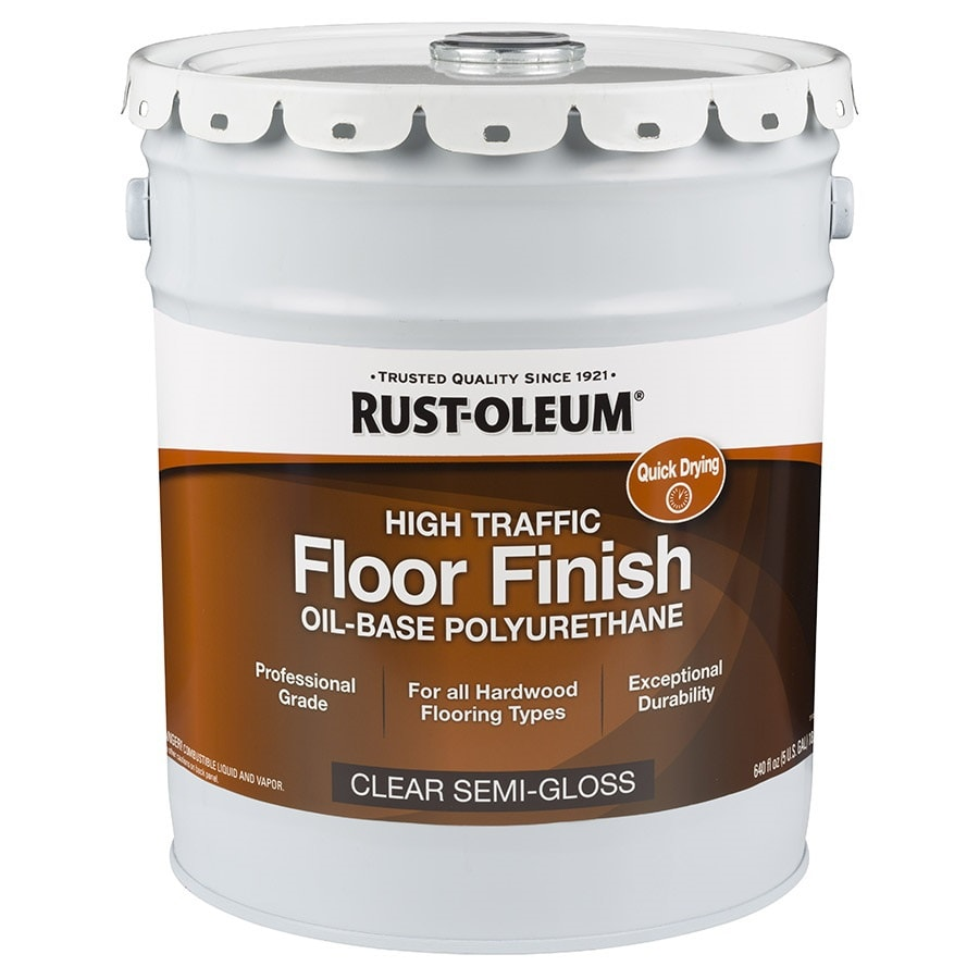 Rust-Oleum 640 fl oz Semi-Gloss Oil-Based Polyurethane