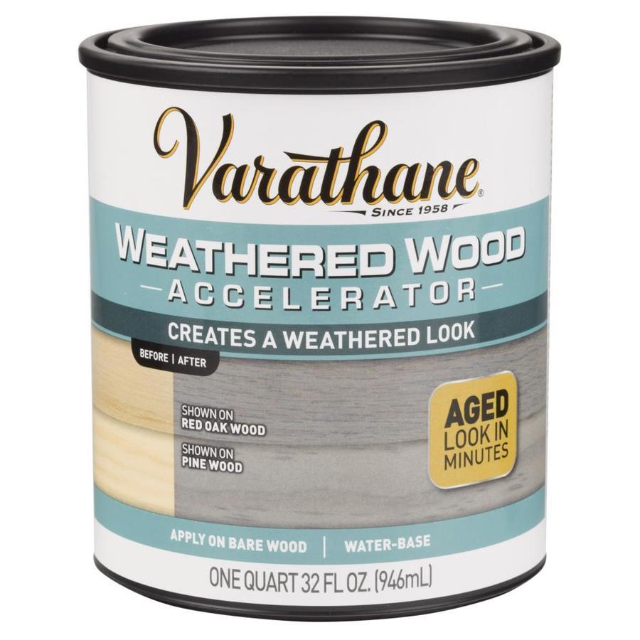 Varathane Wood Accelerator Super Flat Gray Water Based