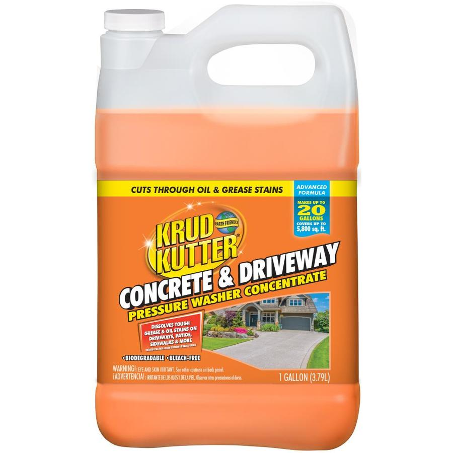 Krud Kutter 1 Gallon Driveway Pressure Washer Cleaner At