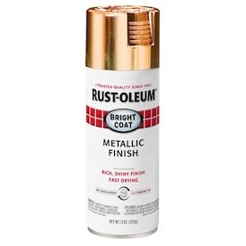 Rust-Oleum Stops Rust Gloss Rose Gold Metallic Spray Paint (NET WT. 11-oz)