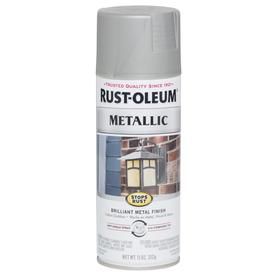 Rust-Oleum Stops Rust Gloss Nickel Metallic Spray Paint (Actual Net Contents: 11-oz)