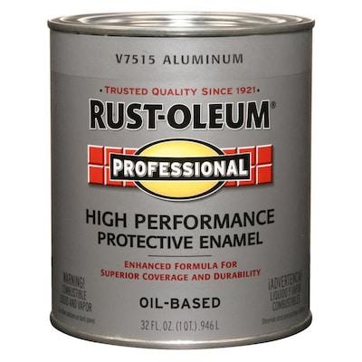 Rust-Oleum Professional Flat Aluminum Oil-based Enamel