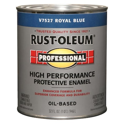 Rust-Oleum Professional Royal Blue Gloss Oil-based Enamel