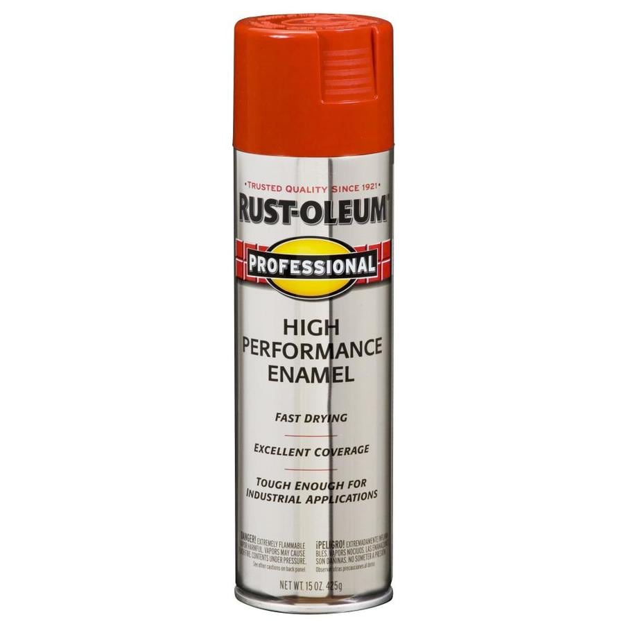 Rust-Oleum Professional Safety Red Rust Resistant Enamel Spray Paint (Actual Net Contents: 15-oz)