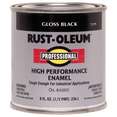Rust-Oleum Professional Black Gloss Oil-based Enamel