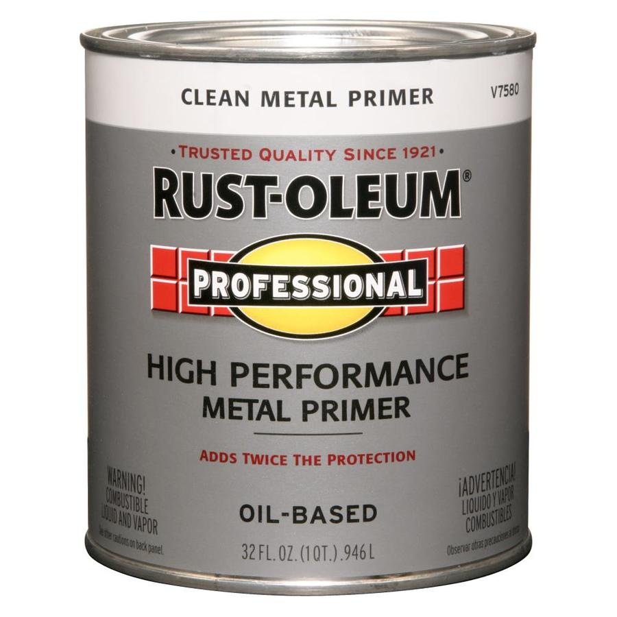 Rust-Oleum Professional White/Flat Oil-based Enamel Interior/Exterior Paint (Actual Net Contents: 32-fl oz)