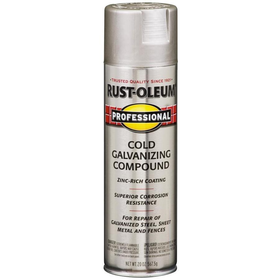 Shop Rust Oleum Professional Silver Enamel Spray Paint Actual Net Contents 20 Oz At