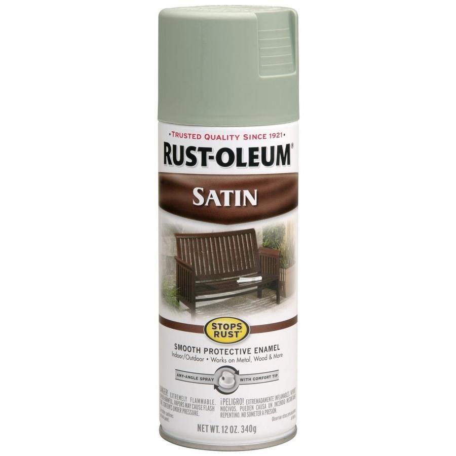 Rust-Oleum Stops Rust Sage Enamel Spray Paint (Actual Net Contents: 12-oz)