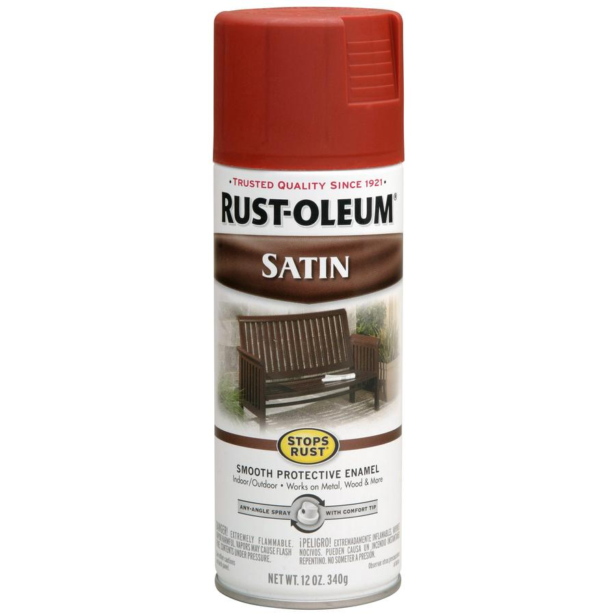 Rust-Oleum Stops Rust Redwood Enamel Spray Paint (Actual Net Contents: 12-oz)