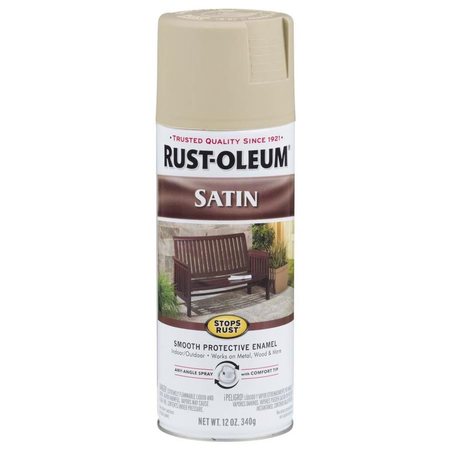 Rust-Oleum Stops Rust Putty Rust Resistant Enamel Spray Paint (Actual Net Contents: 12-oz)