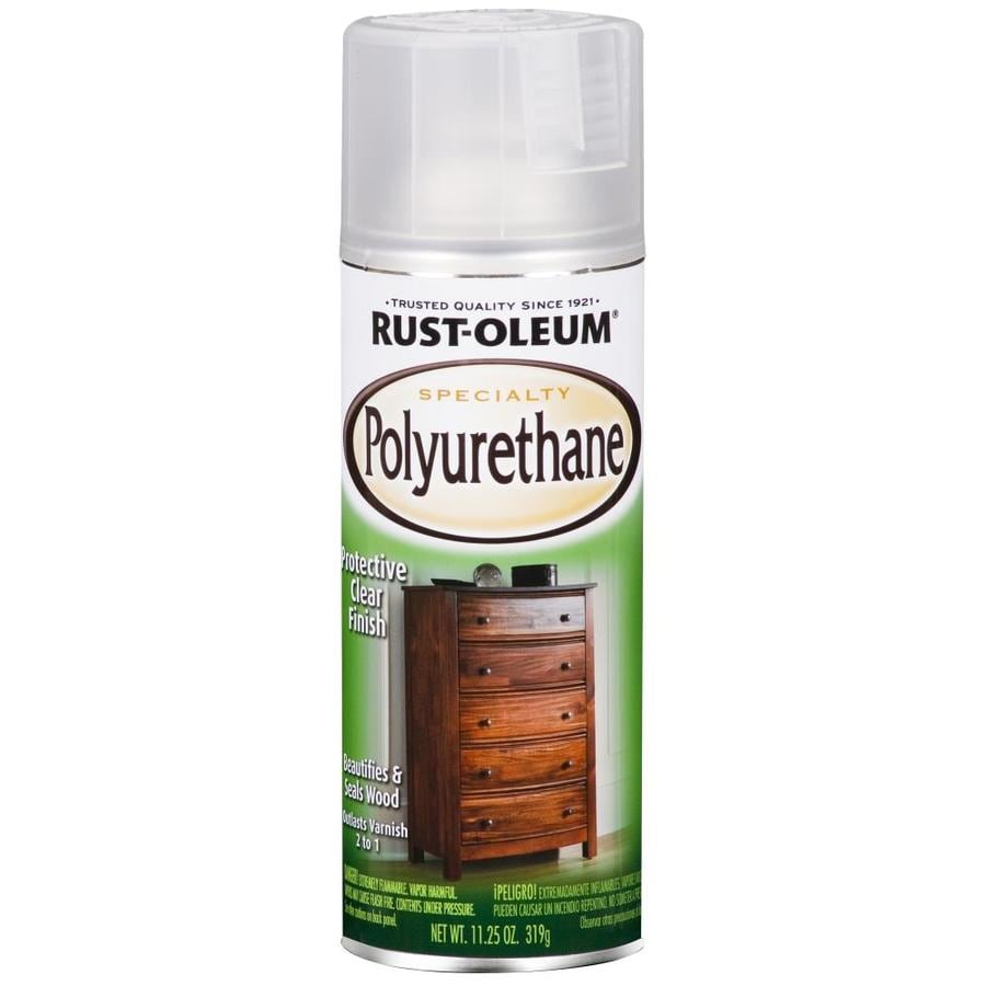 Rust-Oleum Specialty Clear Varnish Spray Paint (Actual Net Contents: 11.25-oz)