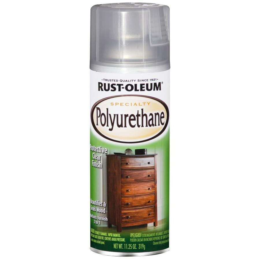 Rust-Oleum Specialty Clear Water Resistant Varnish Spray Paint (Actual Net Contents: 11.25-oz)