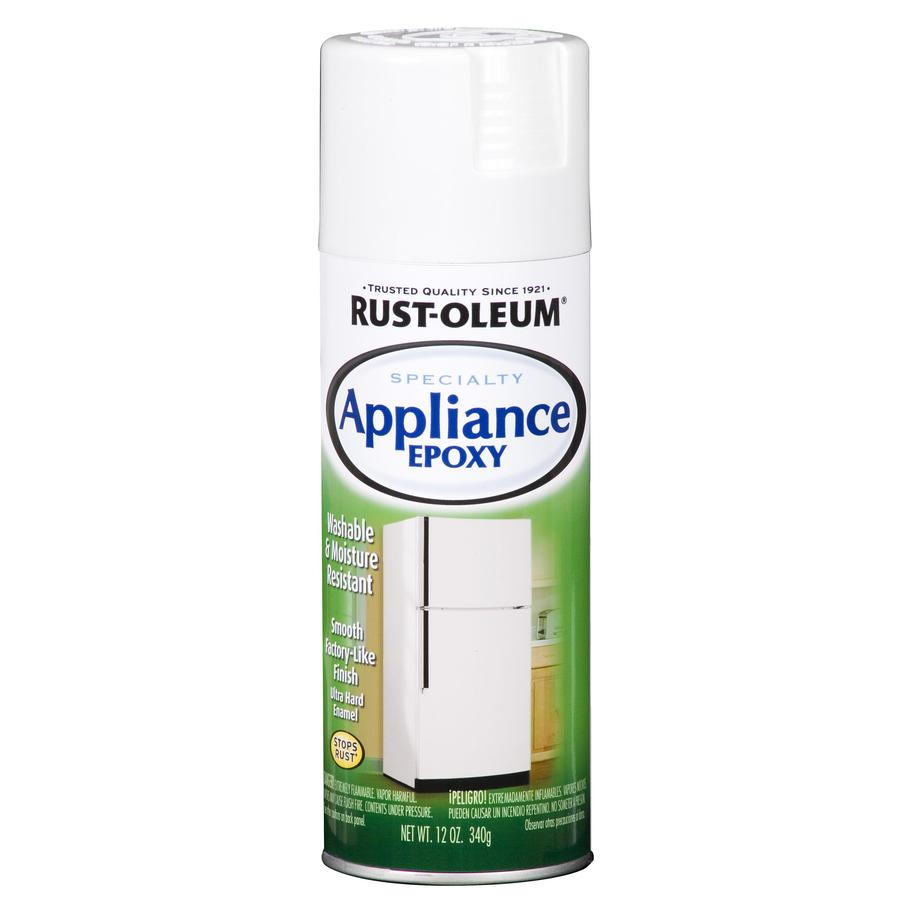 Rust-Oleum Specialty Appliance White Fade Resistant Enamel Spray Paint (Actual Net Contents: 12-oz)