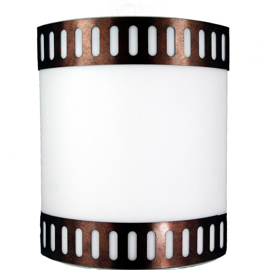 Axis 16-in W 1-Light Rust Corner Wall Sconce