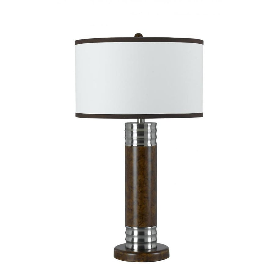Axis 30-in 3-Way Sable Indoor Table Lamp with Fabric Shade