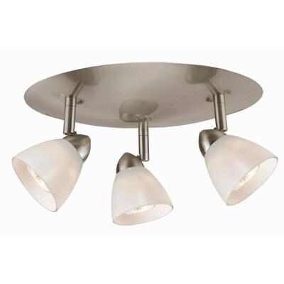Cal Lighting Orbit 3 Light 12 5 In Brushed Steel Dimmable
