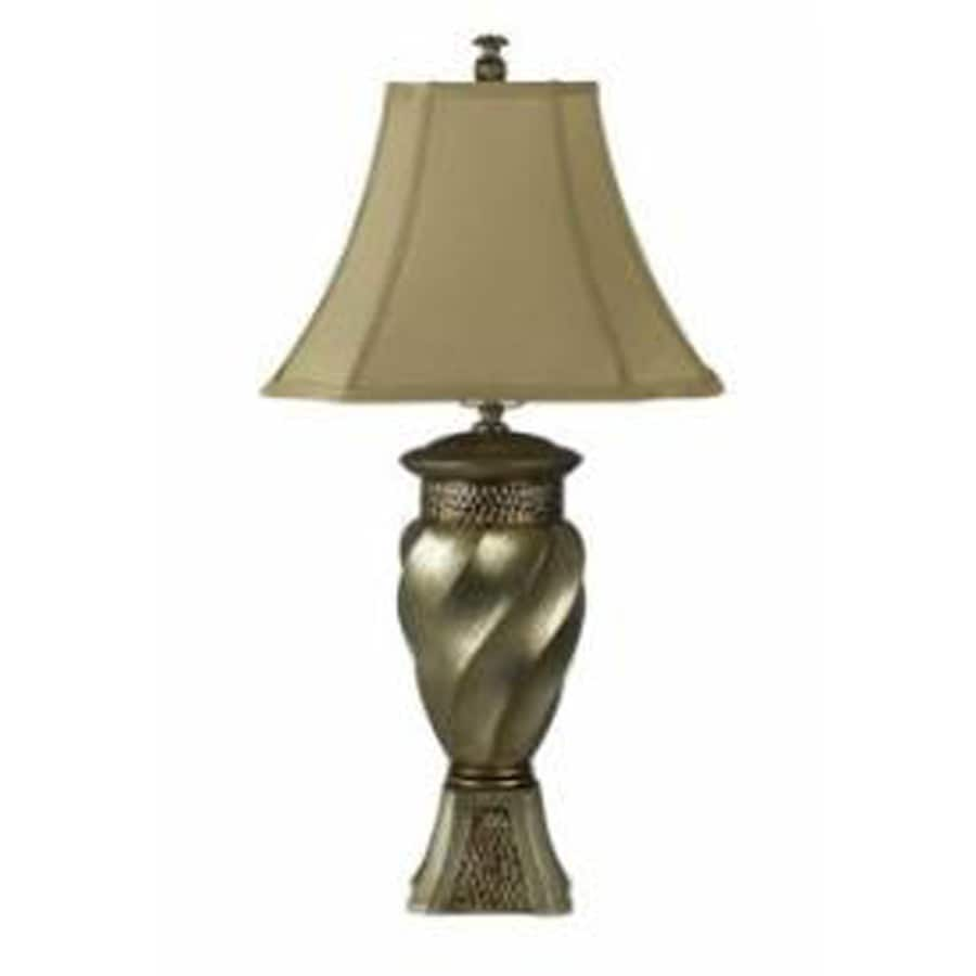 Axis 15-in 3-Way Dapple Indoor Table Lamp with Fabric Shade