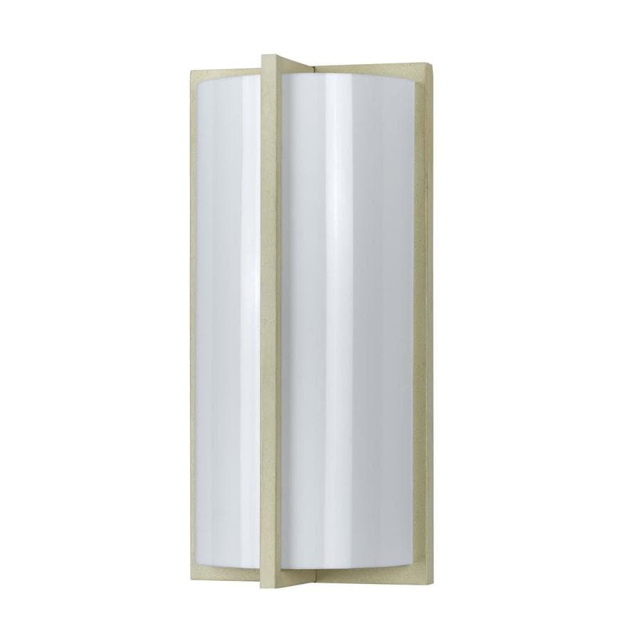 Axis 15.1-in W 1-Light Beige Corner Wall Sconce