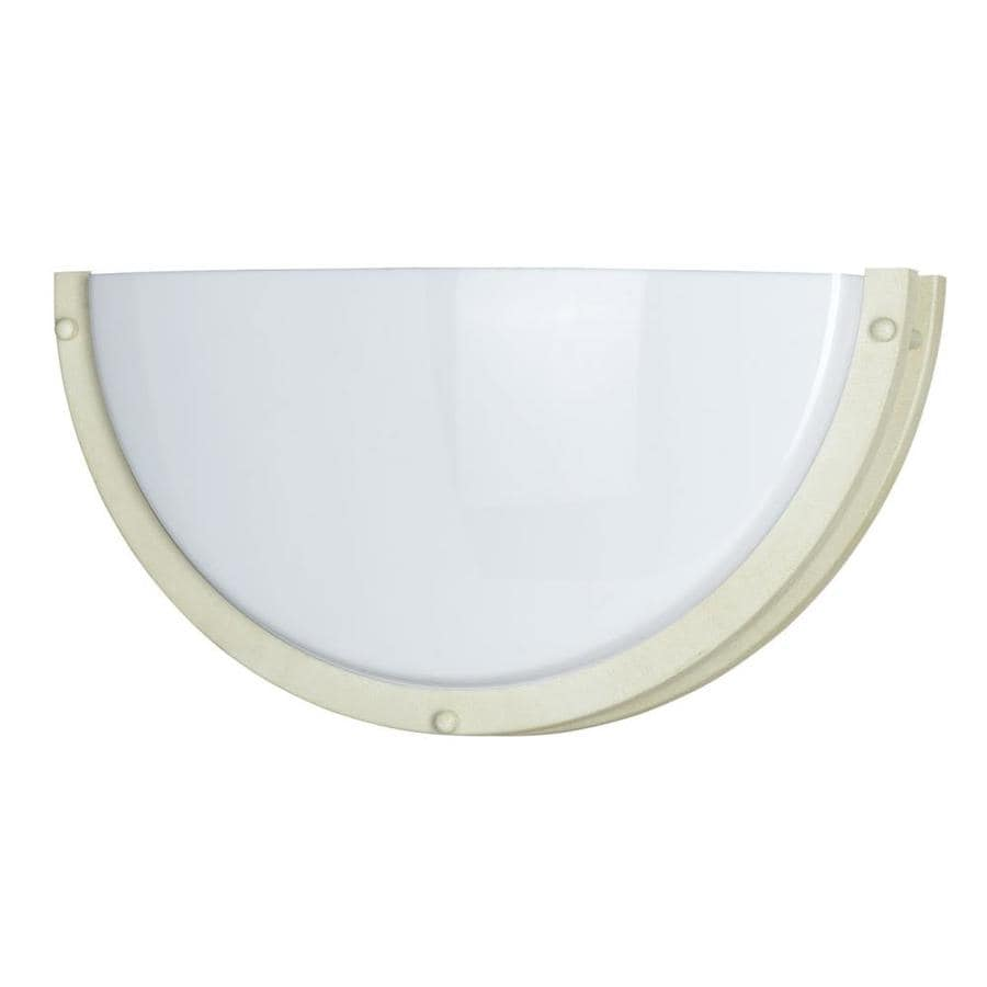Axis 8-in W 1-Light Beige Corner Wall Sconce