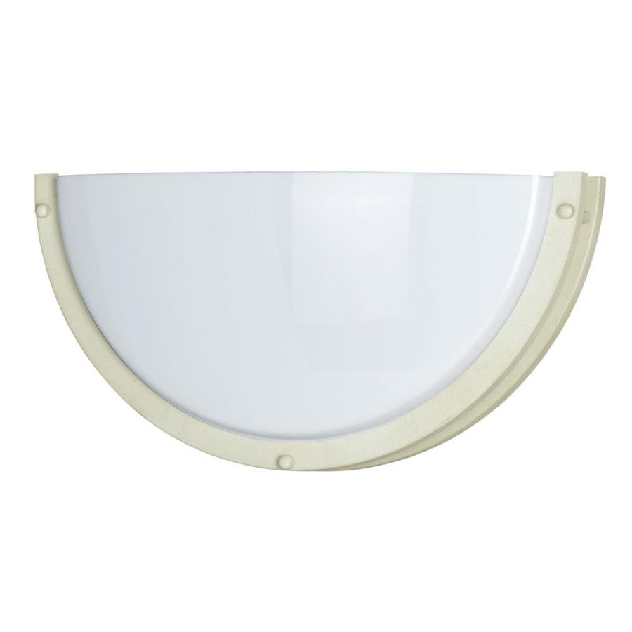 Shop Axis 8-in W 1-Light Beige Corner Wall Sconce at Lowes.com