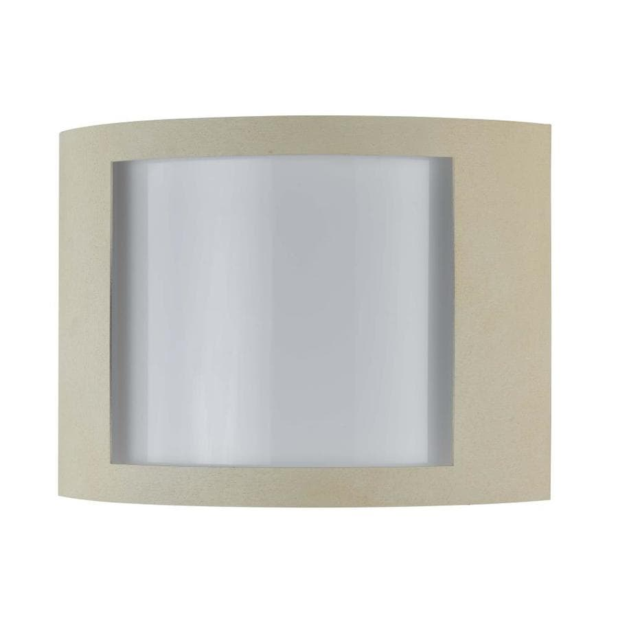 Axis 12-in W 1-Light Beige Corner Wall Sconce