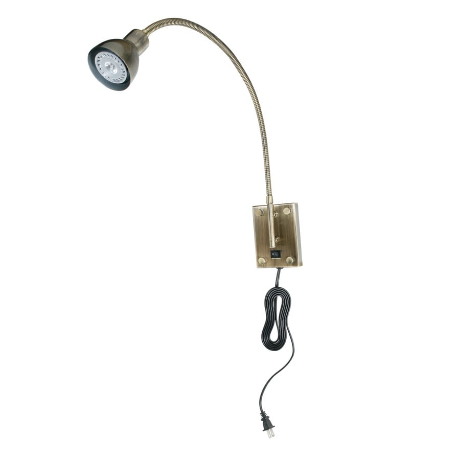 Axis Antique Bronze LED Plug-in Picture Light