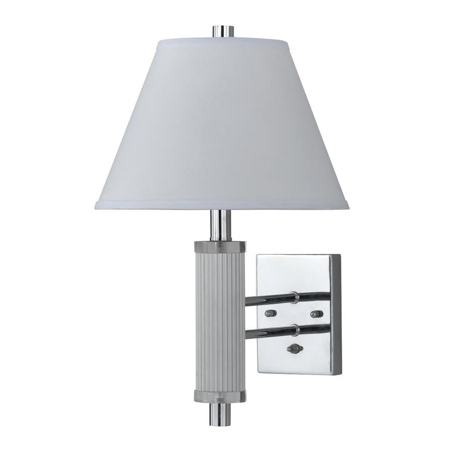 Yasmin Wall Light 2 Arm : Shop Axis 8-in W 2-Light Chrome Arm Wall Sconce at Lowes.com