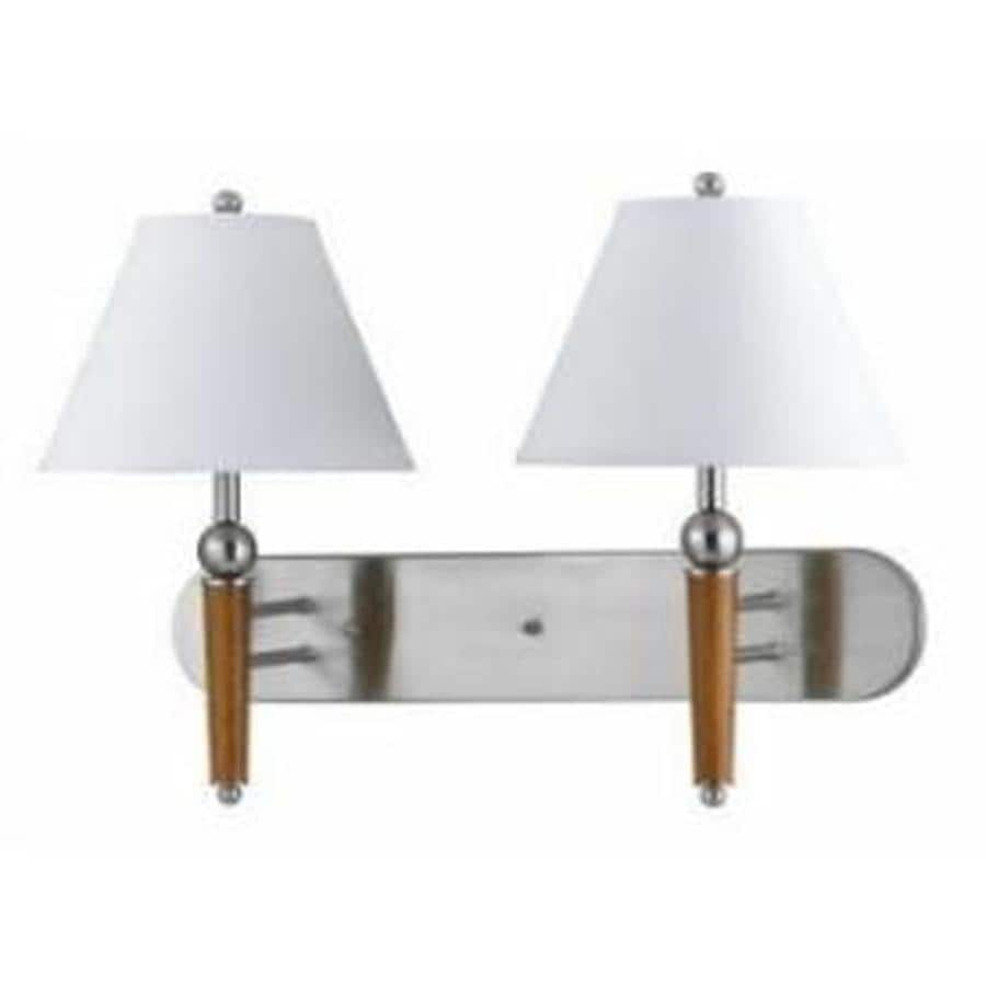 Axis 7-in W 1-Light Brushed steel Arm Wall Sconce