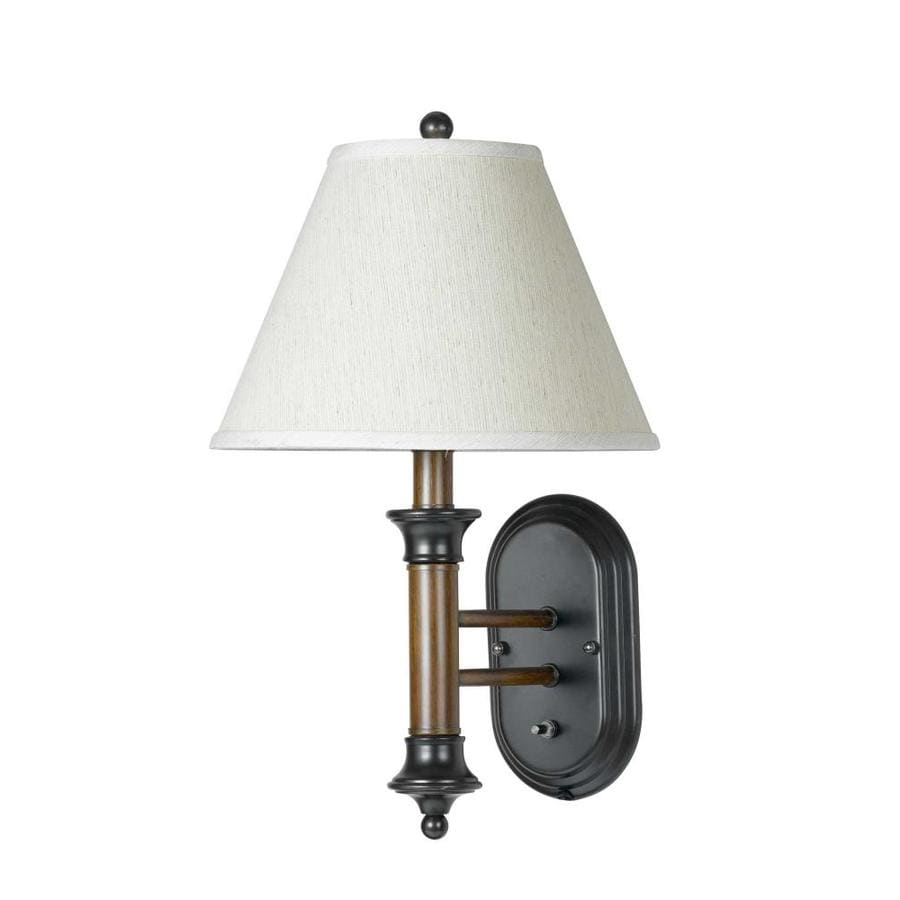 Axis 7-in W 1-Light Dark Bronze Arm Hardwired Wall Sconce
